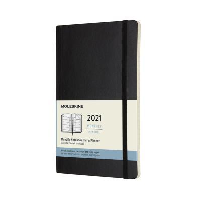 몰스킨 2021먼슬리/블랙 소프트 L