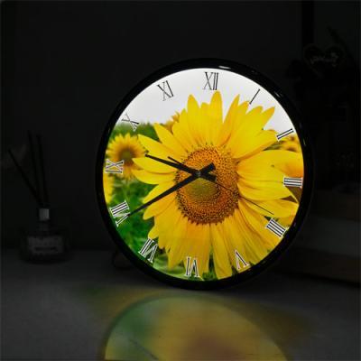 ng302-LED시계액자35R_행복한하루행복한해바라기