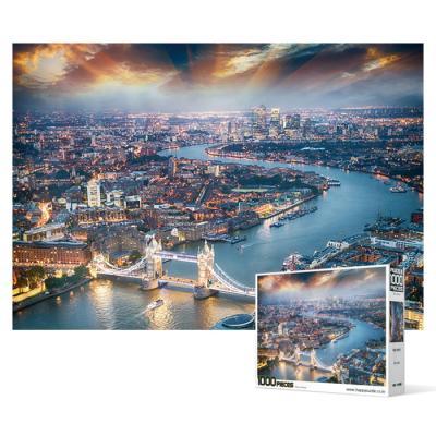 1000피스 직소퍼즐 - 런던 황혼의 선물