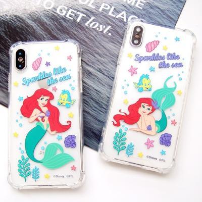 (방탄케이스) 디즈니 인어공주 이야기 휴대폰케이스
