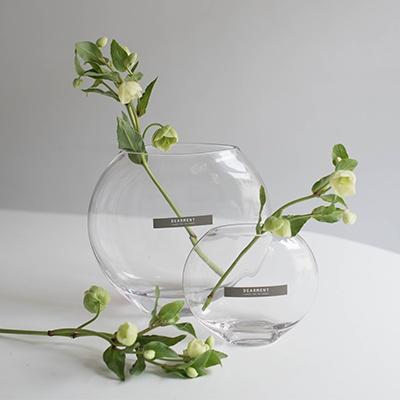 [디어먼트] 화병 아몬드 유리꽃병