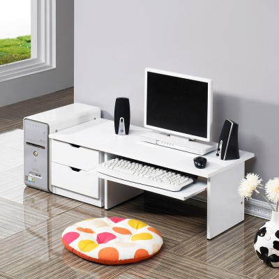 [히트디자인] 600 좌식+300 협탁 세트 책상