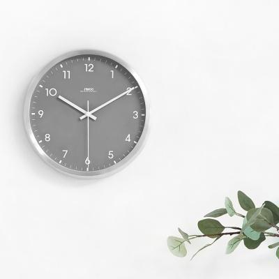 [시우아트] AL 그레이 무소음 벽시계