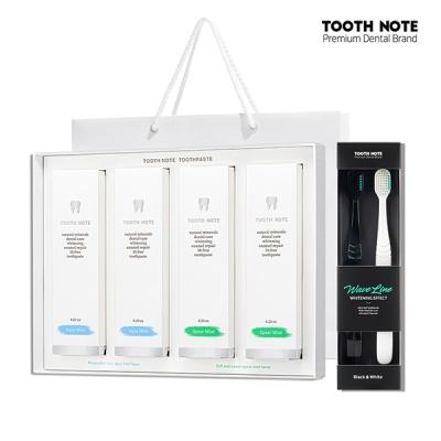 투스노트 프리미엄 미백칫솔  + 미백치약 선물세트