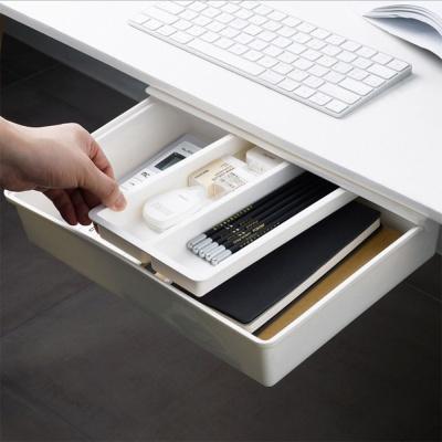 설치가 간편한 부착식 붙이는 책상 서랍(소)