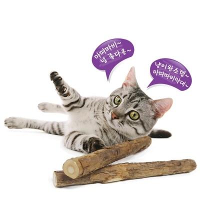 코코브라운 마따따비 막대 2P 고양이장난감 마