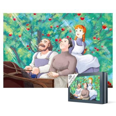 108피스 직소퍼즐 - 빨강머리앤 가족(미니)케이스액자