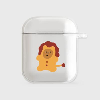 lion gummy [clear 에어팟케이스]