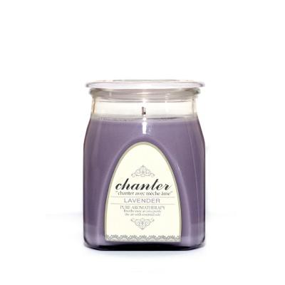 [샹떼] 라벤더 Lavender - 자캔들 미디움 220g : 소이캔들 & 우드심지