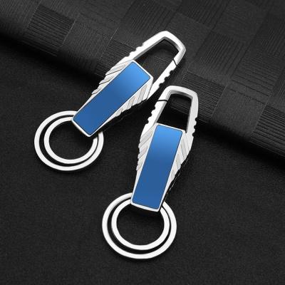 트윈링 키홀더 열쇠고리(블루)