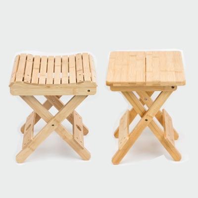 캠핑좌식의자 대나무 원목 접이식 다용도 의자