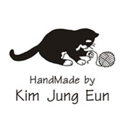 [주문제작라벨]털실고양이(4x3)