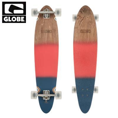 [GLOBE] 40 PINNER CLASSIC RED/NVYSP SURF LONGBOARD