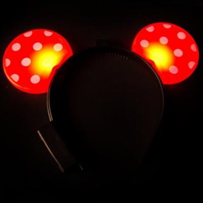 LED 미키머리띠(레드)