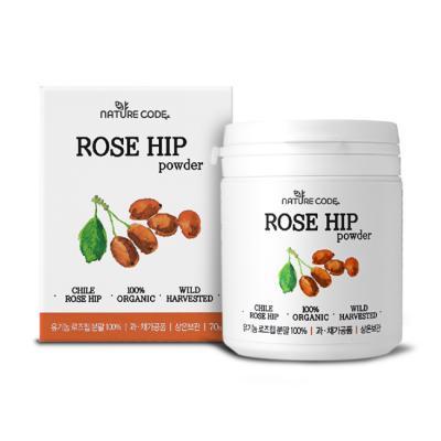 [유통기한 임박특가]유기농 로즈힙파우더(70g)