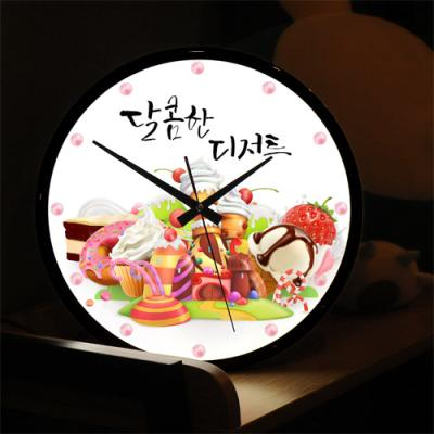 nf226-LED시계액자35R_달콤한디저트