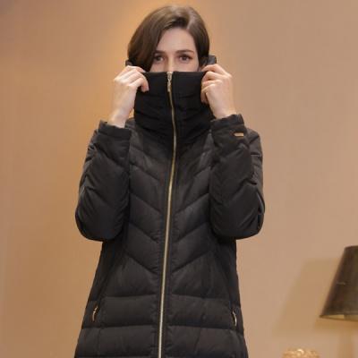 [앤드로제] 쉐브론 덕다운 코트 4color