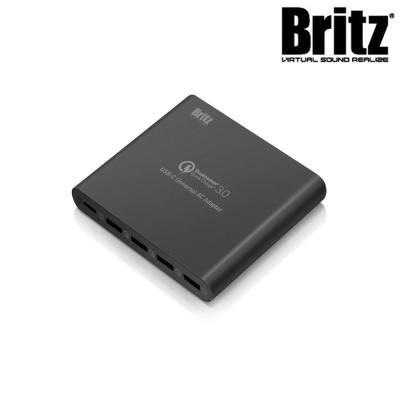브리츠 퀵차지3.0 초고속 멀티충전기 BA-UBQC5 (80W USB PD 지원 / 5포트)