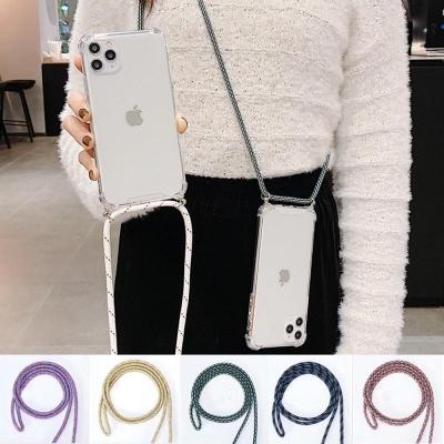 아이폰11 pro max xr xs 핸드폰줄 스트랩 젤리 케이스
