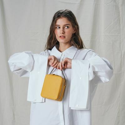 [모에모어] SS BAG 미니 백 옐로우