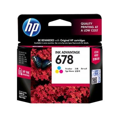HP CZ108AA  NO.678  DJ 2515/3515 - HP 678 3색 정품 잉크 고급 카트리지
