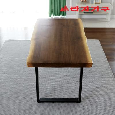 아후 우드슬랩 식탁 테이블 6인 1800