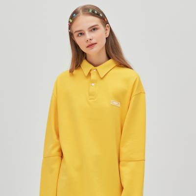 ANTE 러버 라벨 PK 티셔츠 (옐로우)