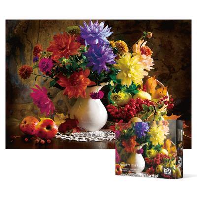 1000피스 직소퍼즐 - 화병에 담긴 꽃