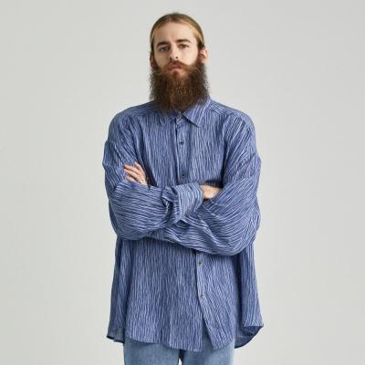 CB 타이셔링 셔츠 (블루)