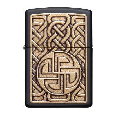 ZIPPO 라이터 49538 Norse Emblem Design