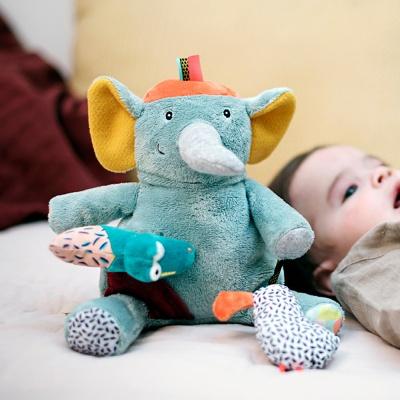 에불로보 프랑스 국민 애착인형 포켓 코끼리