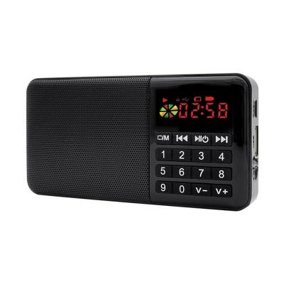 휴대용 FM 라디오 스피커 / 효도 라디오 LCID345