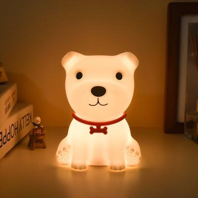 레토 강아지 실리콘 미니 LED 무드등 LML-D18