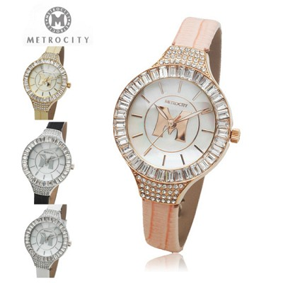 [METROCITY]메트로시티 여성 손목시계  백화점 판매상품/AS가능 MTS1108L
