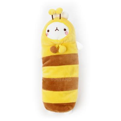 몰랑이 패션 봉제필통-꿀벌