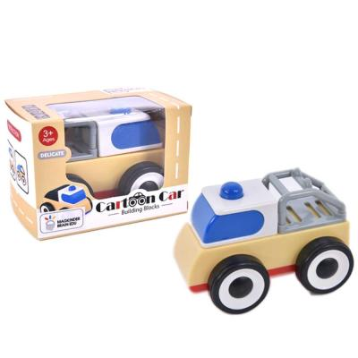 맥킨더 유아용 카툰카 소형 자동차 장난감 (블루)