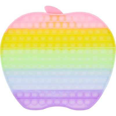 레인보우 푸쉬 팝 버블 - 30cm 애플 (야광)