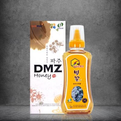 파주 DMZ지역 자연산 100% 아카시아 꿀 1kg