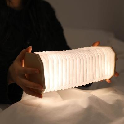 [무아스] 아코디언 LED 충전식 무드등