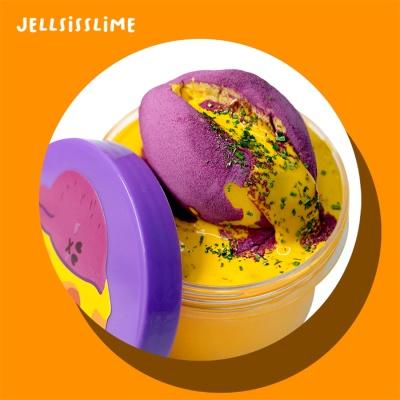 [젤시스슬라임] 치즈폭포고구마/우드글루지글리+점토