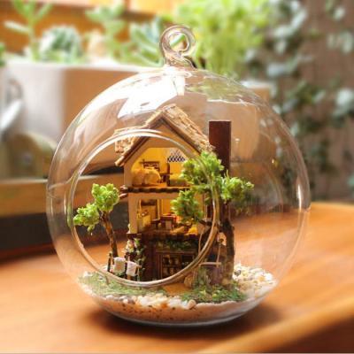 [adico]DIY미니어처 볼 - 숲속의 오두막
