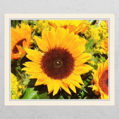 ii924-해바라기와꽃_창문그림액자