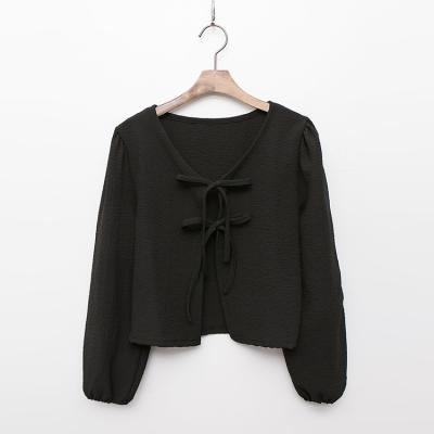 Puff Tie Crop Jacket