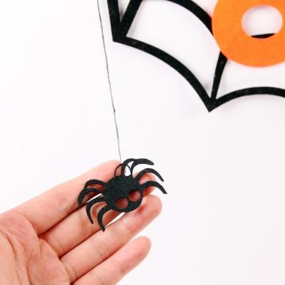 펠트 거미줄 가랜드(트릭or트릿)