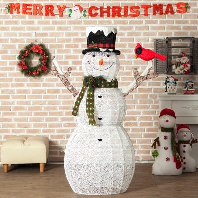 로즈트리 180cm 크리스마스 스마일눈사람 장식소품