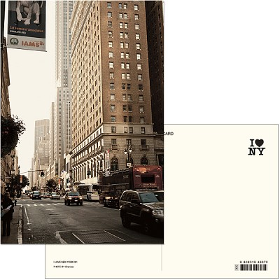 I LOVE NEW YORK (Post card ver.01) - New york 015