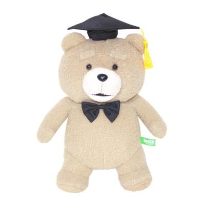 19곰 테드 학사모를 쓴 졸업인형 보타이 30CM