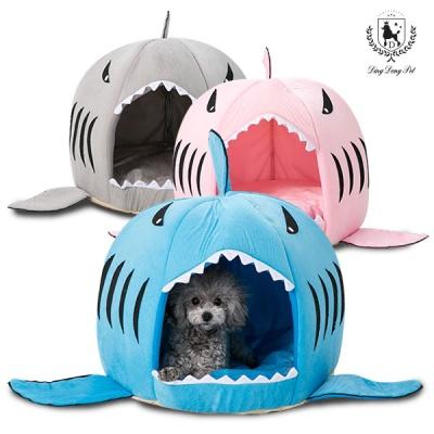 [딩동펫]애견하우스 상어하우스 강아지집
