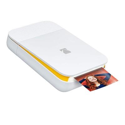 코닥 스마일 스마트폰용 포토프린터 - 화이트/옐로우
