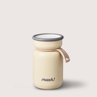 [MOSH] 모슈 보온보냉 라떼 미니 텀블러 120 아이보리